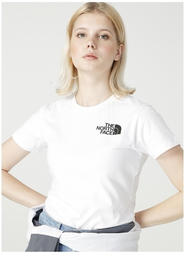 The North Face The North Face NF0A4M8QFN41 W S/S T-Shirt Beyaz